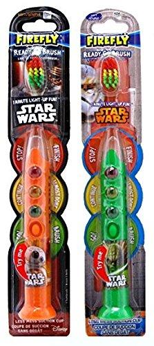 Firefly Light One - Firefly Toothbrush Star Wars Ready 1-Min Timer (Asst Figure) (2 Pack)