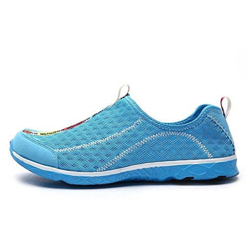 Playa Aguamarina de de de de mujer Aqua Zapatos deporte Zapatillas deportivas para de Azul Surf Agua Oriskey f7qP5wCE