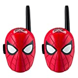 Spiderman Walkie Talkies for Kids Static Free Extended Range Kid Friendly Easy to Use 2 Way Walkie Talkies
