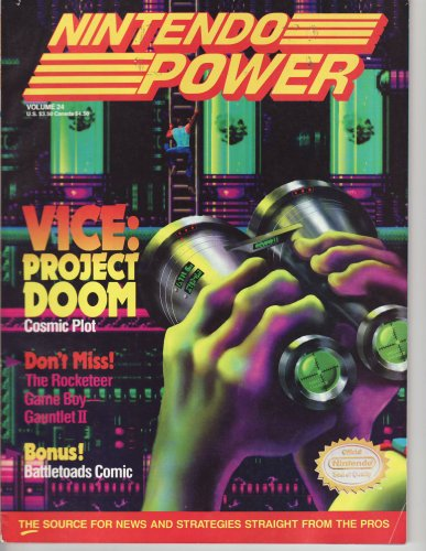Price comparison product image Nintendo Power Vice Project DOOM (Nintendo Power,  Vol. 24)