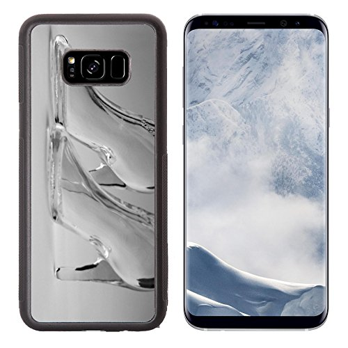 Vodka Bottle Design (Luxlady Samsung Galaxy S8 Plus S8+ Aluminum Backplate Bumper Snap Case IMAGE ID 483711 glass boots)