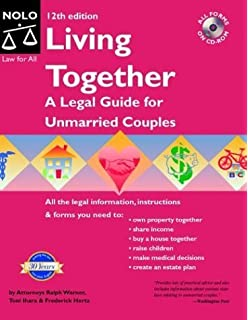 Living Together A Legal Guide For Unmarried Couples Ralph Warner
