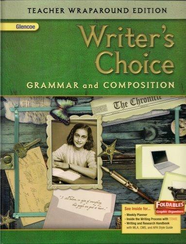 Writer's Choice Grammar and Compostion Teacher Wraparound