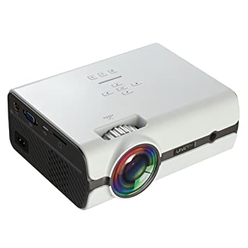 samlike U45 Mode 1600 lúmenes HD 1080P mini portátil Micro ...
