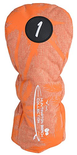 浮浪者近代化するトランジスタクリーブランドゴルフ(Cleveland GOLF) ヘッドカバー ハンティントンビーチコレクション ヘッドカバー ドライバー用 GGE-C024DL サンセットオレンジ