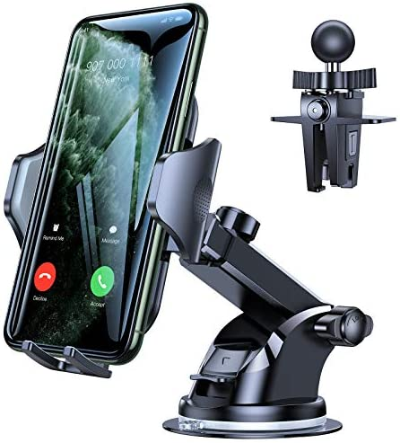 VICSEED Car Phone Mount, [Thick Case & Big...