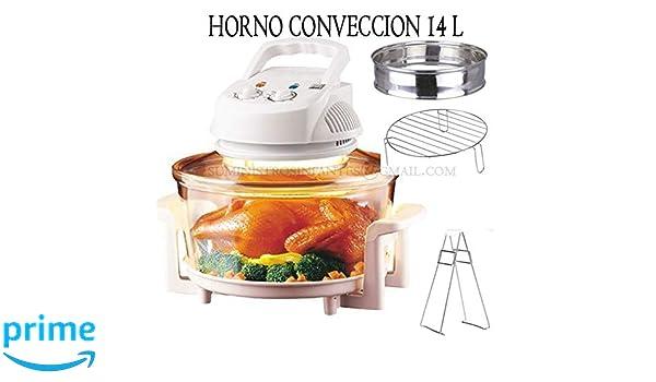 Suinga Horno DE CONVECCION 12 litros 1200-1400W Halógeno ...