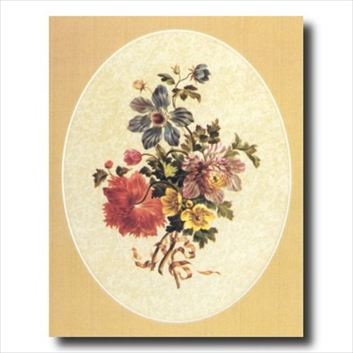 Victorian Flowers Floral Wall Picture 16x20 Art Print - Print Victorian Floral