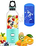 Mini Blender, USB Portable Juicer Cup–Recharge Personal Small Juice Fruit Mixer Bottle- Electric Smoothie Mixing Machine with Girls Boys Friends Travel Household and Office by Yago, Tiffany