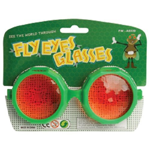 U.S. Toy Adult Size Fly Eye Prankster Glasses]()