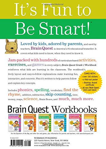 Counting Number worksheets future going to worksheets : Brain Quest Workbook: Grade 1: Lisa Trumbauer: 9780761149149 ...