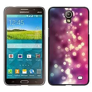 // PHONE CASE GIFT // Duro Estuche protector PC Cáscara Plástico Carcasa Funda Hard Protective Case for Samsung Galaxy Mega 2 / Purple Pink Shiny Water /