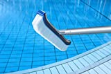 "Aquatix Pro Pool Brush Head Strong 18"" Aluminium"
