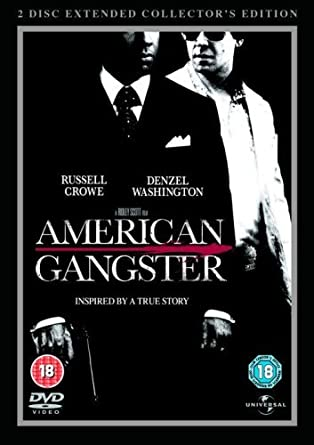 Amazon Com American Gangster 2 Disc Extended Collector S Edition Steel Book 2007 Dvd Movies Tv