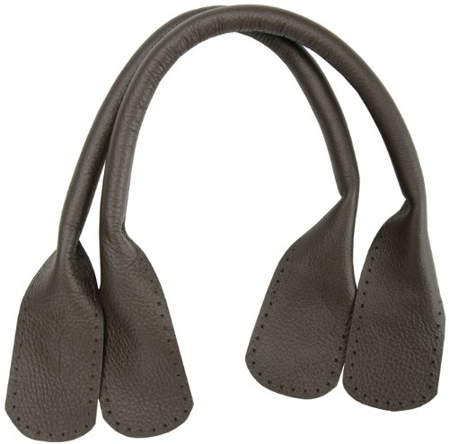 Somerset Tote - Leather Tote Handles 24 2/Pkg-Dark Brown