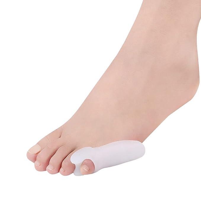 Kandall Corrector de dedos de silicona, correctores y separadores de dedos, protectores de dedos de los pies, tratamiento alisador, 1 par: Amazon.es: Salud ...