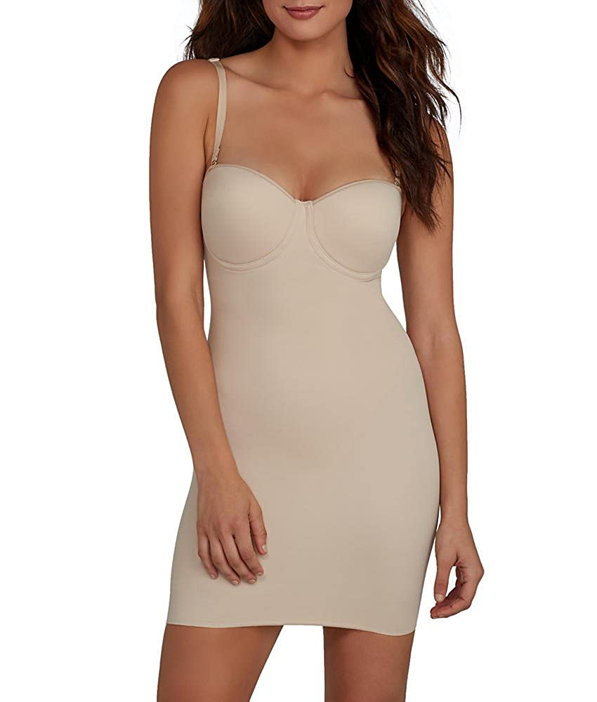 Real Smooth Extra Firm Control Strapless Slip Miraclesuit 2752