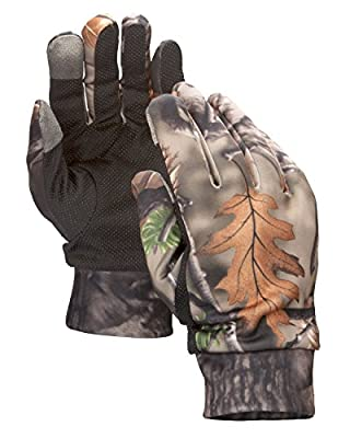 North Mountain Gear Mens Camouflage Hunting Gloves With Touch Screen Capability And Sport Utility Grip One Size