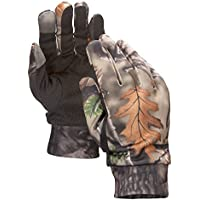 Mens Lightweight Camouflage Hunting Gloves With...