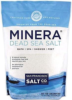 NEW-Sal Marina Del Mar Muerto Grano Fino 100% Pura Natural Nutre Limpia La Piel