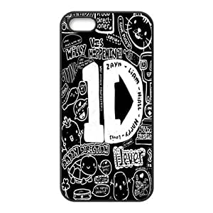 1D Pattern Design Solid Rubber Customized Cover Case for iPhone 4 4s 4s-linda377