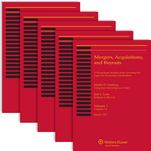 Mergers, Acquisitions, and Buyouts, January 2011 (5 Volume Set)