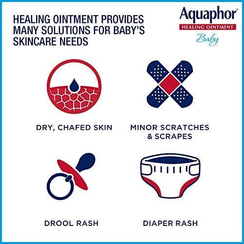 51u5yZLoPFL. AC - Aquaphor Baby Healing Ointment - Advance Therapy For Diaper Rash, Chapped Cheeks And Minor Scrapes - 14 Oz Jar