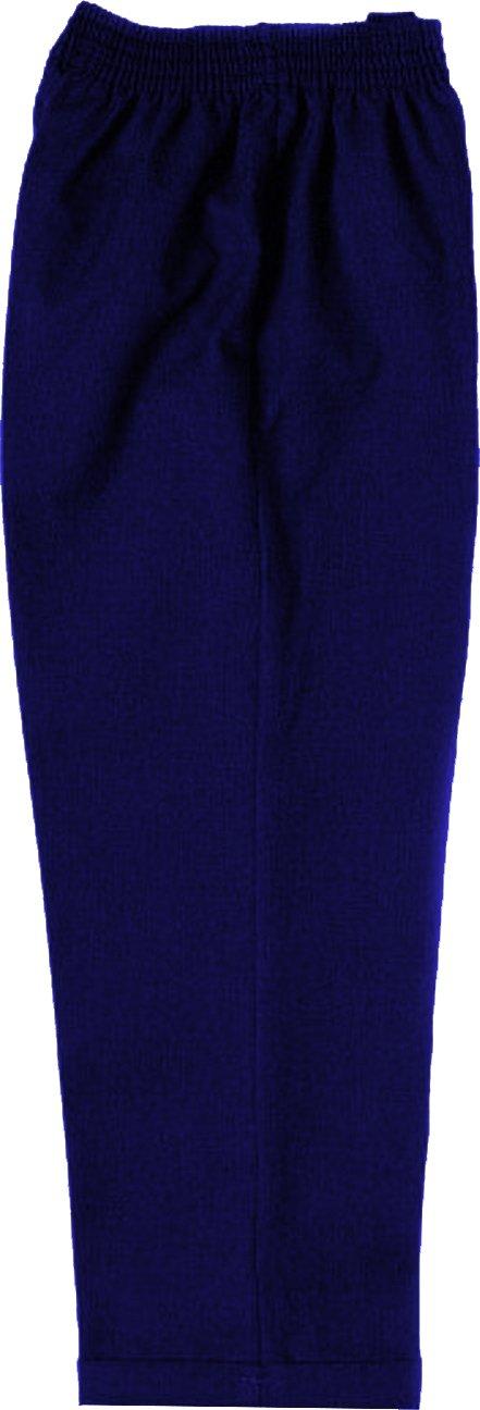 School Uniform Boys Elastic Turn Up Trouser 6962-P