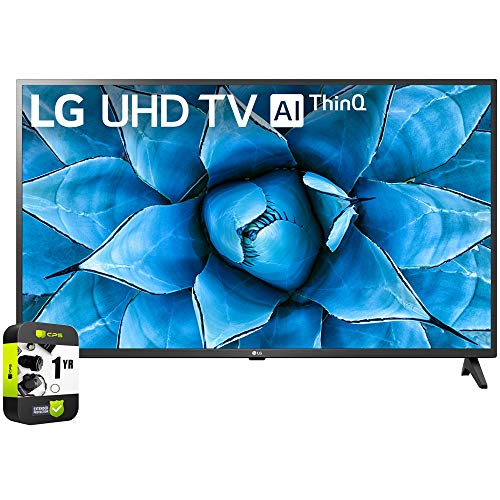 🥇 LG 50UN7300PUF 50 inch UHD 4K HDR AI Smart TV 2020 Model Bundle with 1 Year Extended Protection Plan