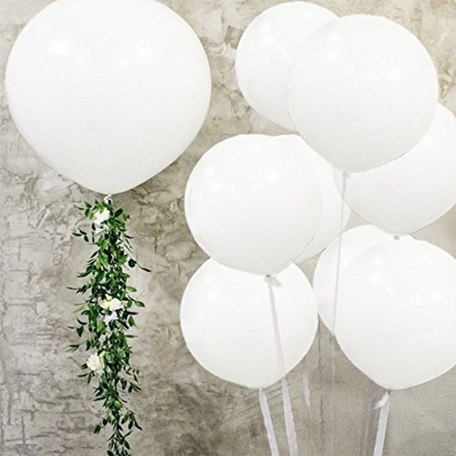 Check expert advices for giant white balloons 3 pack?