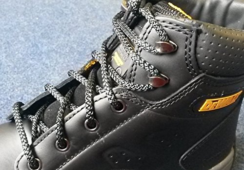 Fabmania cordones resistentes al fuego irrompibles para botas de trabajo de Kevlar: Amazon.es: Zapatos y complementos