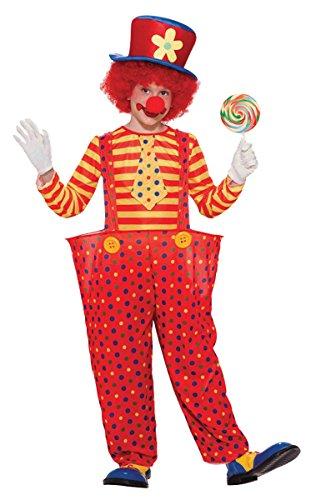 [Forum Novelties Hoopy the Clown Child Costume, Medium] (Boy Clown Costumes)