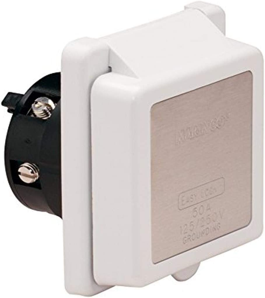 Marinco 30 Amp and 50 Amp Inlets: Sports & Outdoors