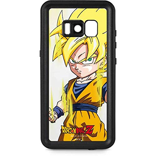 detailed look 14a56 c66d2 Amazon.com: Skinit Super Saiyan Galaxy S8 Waterproof Case ...