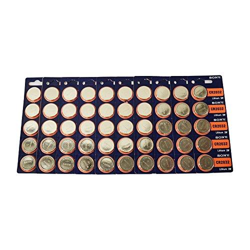 - CR2032 Sony Lithium 3V Battery 50 Pcs