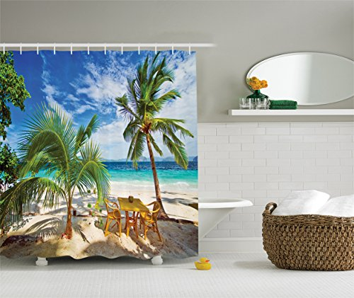 ambesonne-coastal-decor-collection-dining-in-beach-under-sunlight-palm-trees-and-shadows-shades-luxu