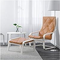 Zigzag Trading Ltd Ikea Poang Repose Pieds Blanc Seglora