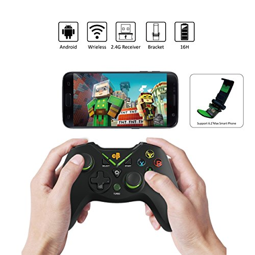 c6a5758ee7a Cosmic Byte C3070W Nebula 2.4G Wireless Gamepad for PC/PS3 supports Windows  XP/7/8/10, Rubberized Texture: Amazon.in: Video Games
