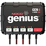 NOCO Genius GEN4 40 Amp 4-Bank Waterproof Smart On-Board Battery Charger