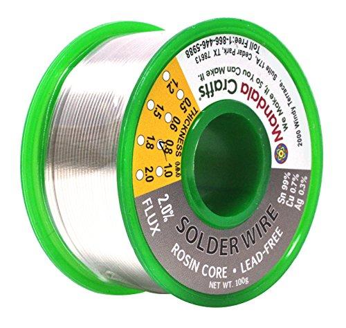 mandala-crafts-sn99-ag03-cu07-06mm-08mm-1mm-15mm-lead-free-2-flux-rosin-core-solder-wire-08mm