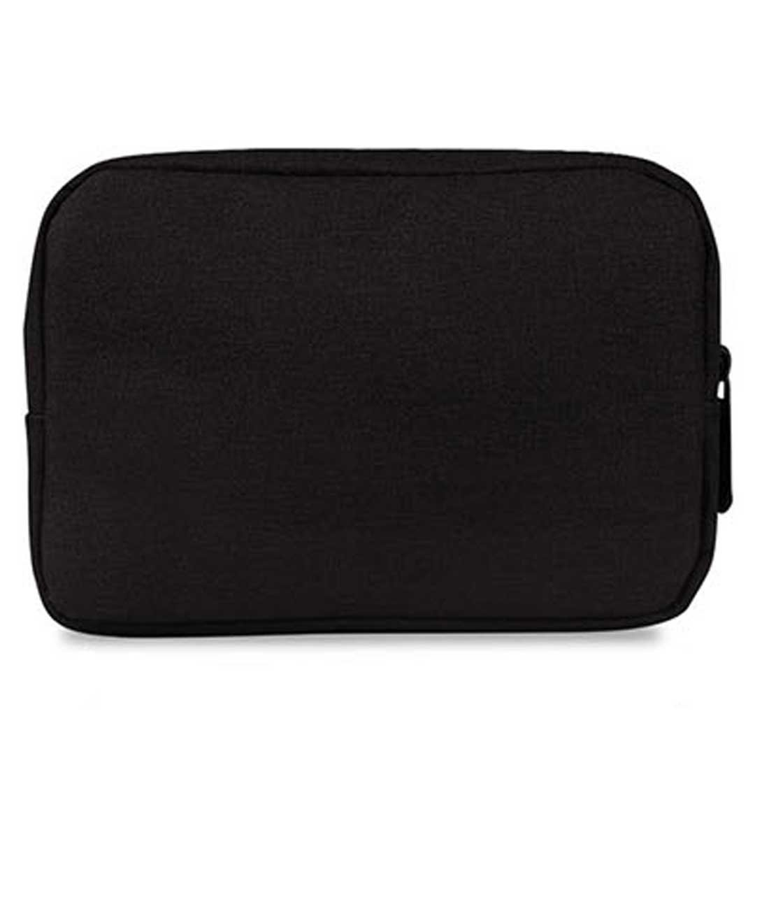 20dac2544122 Buy WOOWAA Daily Makeup Pouch Compact Size(Black) Online at Low Prices in  India - Amazon.in