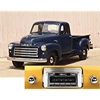 1947-1953 GMC USA-630 II High Power 300 watt AM FM Car Stereo/Radio with iPod Docking Cable