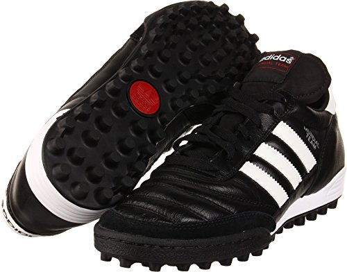 adidas Performance Men's MUNDIAL TEAM Athletic Shoe, black/white/red, 10 M US