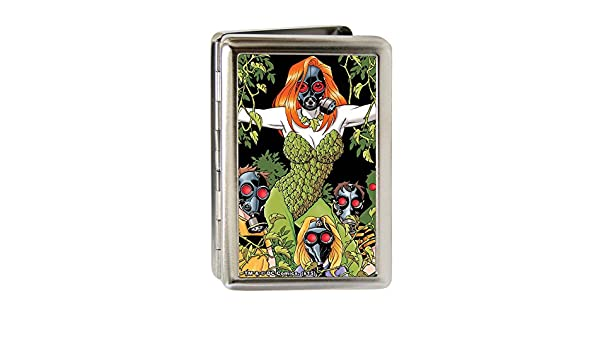 Buckle-Down Business Card Holder Large Detective Comics Issue #752 Cover Gas Masked Poison Ivy