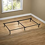 Zinus Compack 6-Leg Support Bed Frame, for Box Spring & Mattress Set, Twin