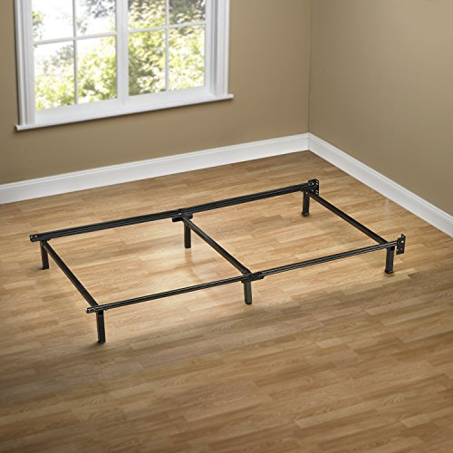 amazoncom zinus compack 6 leg support bed frame for box spring mattress set twin kitchen dining - Twin Bed And Frame