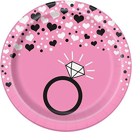 Bachelorette Dessert Plates, 8ct (Bachelorette Plates)