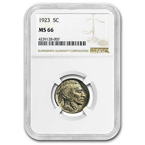 1923 Buffalo Nickel MS-66 NGC Nickel MS-66 NGC