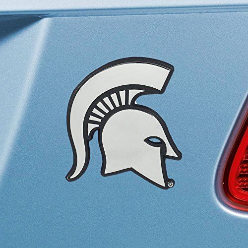 (FANMATS NCAA Michigan State University Spartans Chrome Team Emblem)
