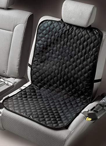 - Trenton Gifts Washable Waterproof Seat Covers | No-Slip Pet Seat Cover with Anchors for Secure Fit | Universal Design for All Cars, Trucks & SUV's | Black